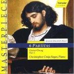 6 Partitas / Clavier-Übung Part I - Johann Sebastian Bach (Komp) - BWV 825-830 - Christopher Czaja Sager / Piano