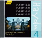 Sinfonien Nr. 34, 39, 40, 50 von Joseph Haydn (Komp)