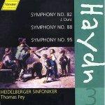 Sinfonien Nr. 82, 88, 95 von Joseph Haydn (Komp)