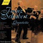 Streichquartette Rabenschlag / Quartette a-Moll D 804 & B-Dur D 36 / Franz Schubert (Komponist) Verdi-Quartett