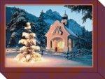Grußkartenkassette / Verschneite Kapellen
