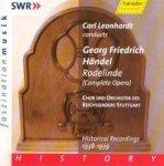 Rodelinde [Historical Recordings 1938-1939] Georg Friedrich Händel [Komponist] Doppel Audio-CD