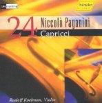 24 Capricci op. 1 / Niccolò Paganini (Komp) Live recording