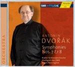 Antonín Dvorák - Sinfonie Nr. 7 & 8 / Radio-Sinfonieorchester Stuttgart des SWR
