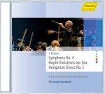 Sinfonie 4/Haydn-Variationen / Schleswig-Holstein Festival Orchester / Christoph Eschenbach / Johannes Brahms