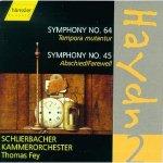 Josehh Haydn - Sinfonie 64 und 45 / Schlierbacher Kammerorchester / Thomas Frey - Audio-CD