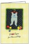 3er Päckchen Faltkarten - Gottes Segen für Eltern und Baby