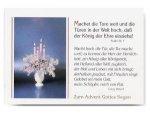 Kleinkartenserie [24 Stück] Zum Advent Gottes Segen