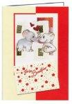 3er Päckchen Faltkarten - Für das Brautpaar [Geldschein-Karte]