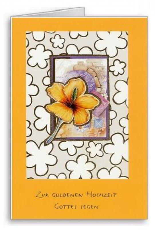 3er Päckchen Faltkarten Zur Goldenen Hochzeit Gottes Segen