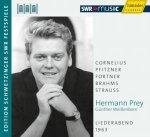 Hermann Prey - Liederabend 1963 - Audio-CD