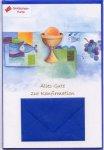3er Päckchen Faltkarten - Alles Gute zur Konfirmation [Geldscheinkarte]