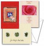 3er Päckchen Faltkartenserie - Hochzeit