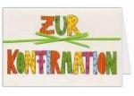 5er Päckchen Faltkarten - Zur Konfirmation