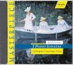 3 Piano Sonatas op.25 No.5, op.13 No.6, op.34 No.2 / Muzio Clementi (Komp) Christopher Czaja Sager / Piano
