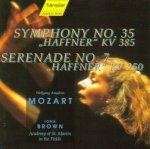 Wolfgang Amadeus Mozart - Haffner-Serenade No. 7 KV 250 & Haffner-Sinfonie No. 35 KV 385 - Iona Brown