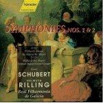 Symphonien Nr.1 und 2 - Helmuth Rilling (Künstler), Real Filharmonia de Galicia, Franz Schubert (Komponist)