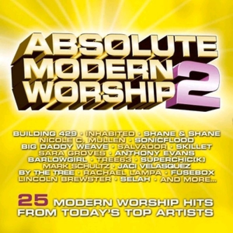 Absolute Modern Worship 2 Yellow (Doppel-Audio-CD) 25 Moderné Worship Hits