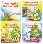 4 tlg. Minibuchserie - Kleine Weihnachtsgeschichten