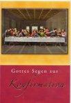 3er Päckchen Faltkarten - Gottes Segen zur Konfirmation