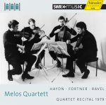 Melos Quartet »Quartet Recital 1979« Audio-CD