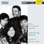 Tokyo String Quartet »Quartet Recital 1971« Audio-CD