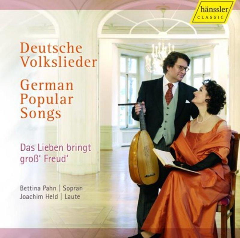 Deutsche Volkslieder - Bettina Pah u. Joachim Held