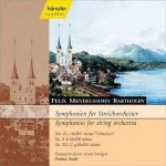 Felix Mendelssohn Bartholdy (1809-1847) Streichersymphonien Nr.  9 · 10 · 12 - Kammerorchester Arcata Stuttgart