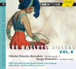 Les Ballets Russes Vol. 8 - Diaghilev - Audio-CD