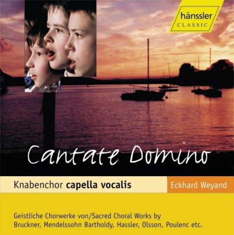 Knabenchor Capella Vocalis / Cantate Domino - Audio-CD