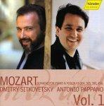 Wolfgang Amadeus Mozart (1756-1791) Sonaten für Violine & Klavier Vol.1 KV 304, 305, 380, 454 - Audio-CD