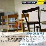 Jascha Nemtsov [Piano] Aphorisms - Audio-CD