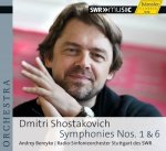 Dmitri Shostakovich » Symphonies Nos. 1 & 6 - Audio-CD