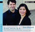 Bachiana - Bach Transformationen von Moscheles • Schumann • Reinecke » Duo d'Accord - Audio-CD