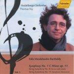 Felix Mendelssohn Bartholdy • Streichersinfonien 1 - Audio-CD