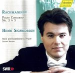 Sergej Rachmaninoff (1873-1943) Klavierkonzerte Nr. 2 & 3 / Henri Sigfridsson - Audio-CD
